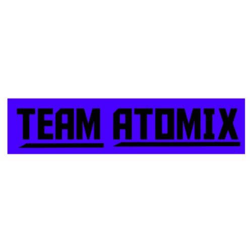 Team Atomix Black With Purple - Men's Premium T-Shirt