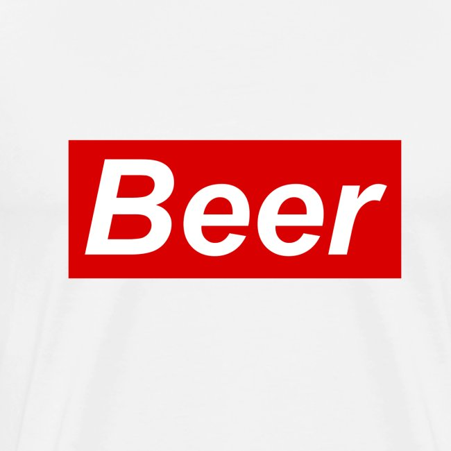 Beer. Red limited edition
