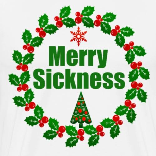 Weihnachtssickness - Design für Weihnachtsmuffel - Männer Premium T-Shirt