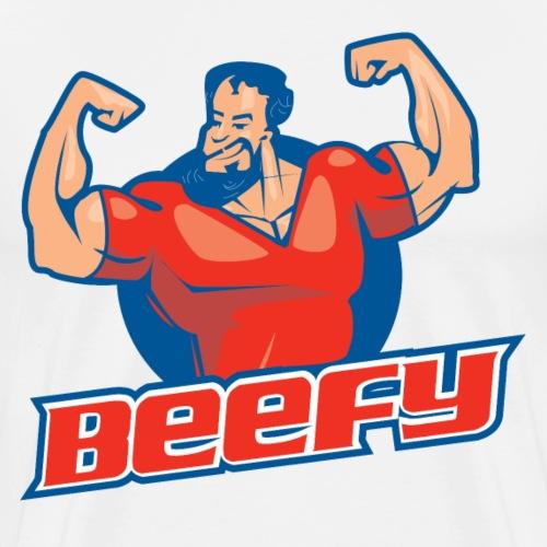 Beefy Strongman large - Men's Premium T-Shirt