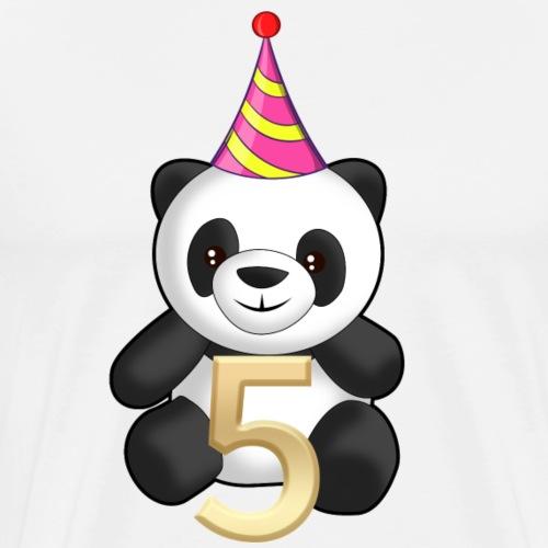 5 Jahre Geburtstag 5 Years Happy Birthday - Männer Premium T-Shirt