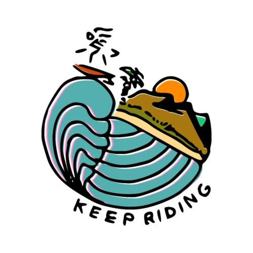 Surfeur au Couchant