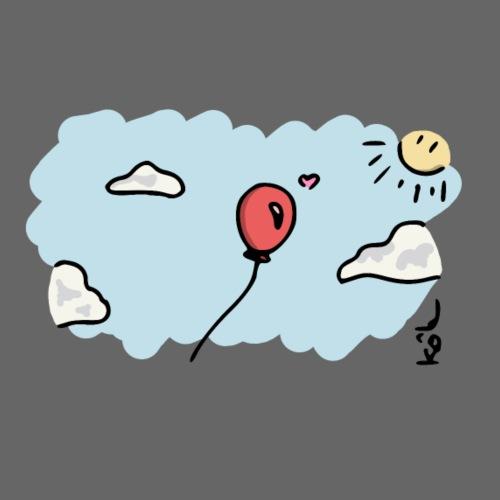 Ballon Amoureux - T-shirt Premium Homme