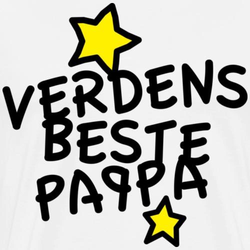 Verdens beste pappa - Premium T-skjorte for menn