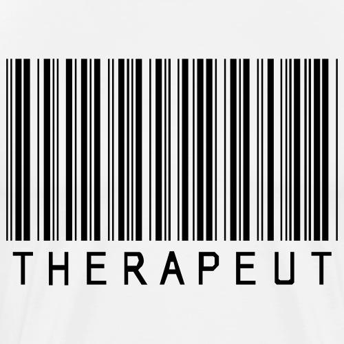 Barcode / Strichcode Therapeut - Männer Premium T-Shirt