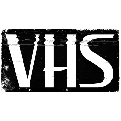 VHS BLACK LABEL - Miesten premium t-paita