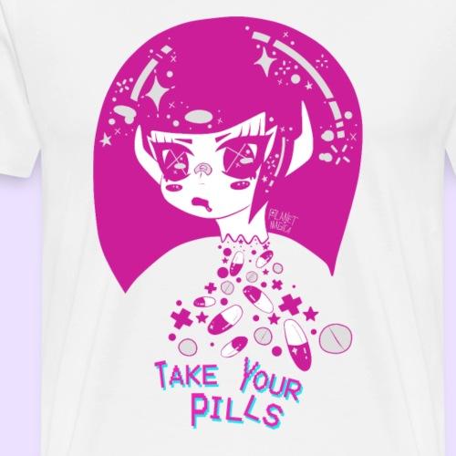 take yo pills pink - Men's Premium T-Shirt