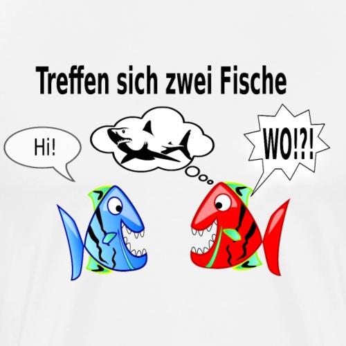Treffen sich zwei Fische - Witz