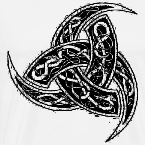 corne de Odin noir graphique - T-shirt Premium Homme