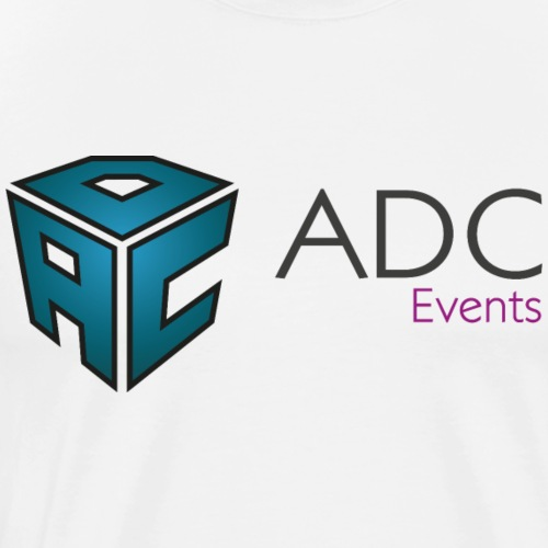 logo adc events cmjn - T-shirt Premium Homme