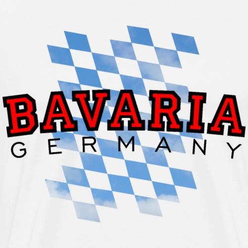 Bavaria Germany Bayern Deutschland - Männer Premium T-Shirt