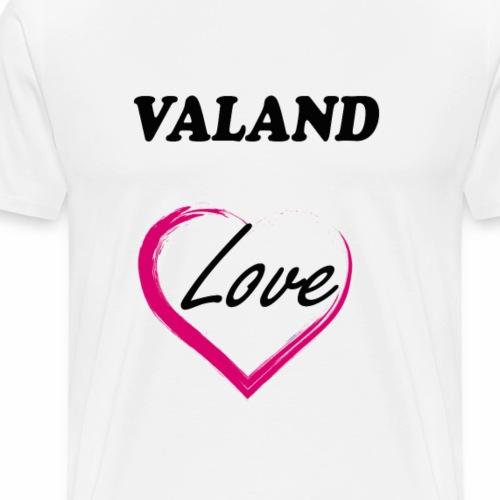ValAnd Love - Camiseta premium hombre