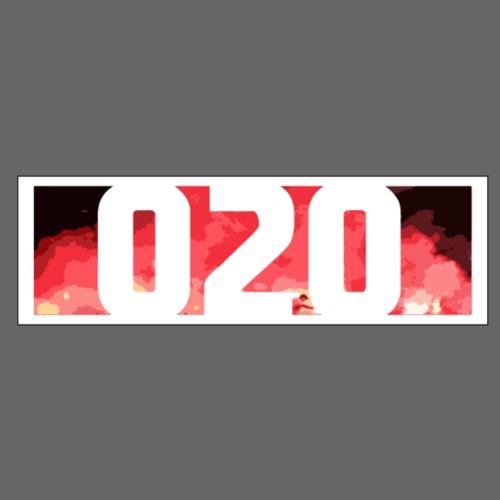 Ajax 020 Logo - Mannen Premium T-shirt