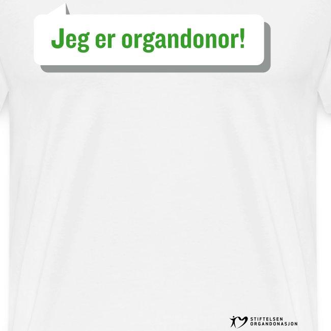 Jeg er organdonor