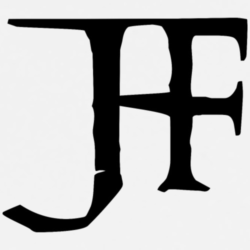 Cool Black Logo - Premium-T-shirt herr