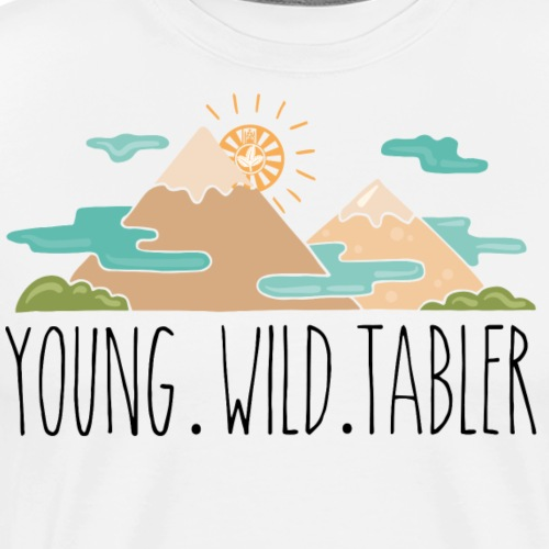 young.wild.tabler - Männer Premium T-Shirt