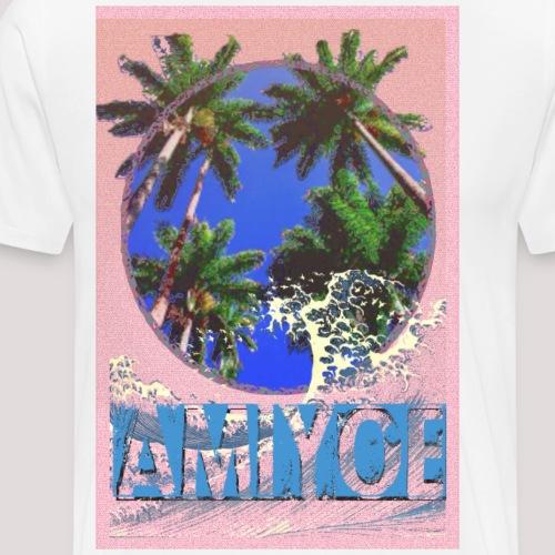 AMIYOE wave - Camiseta premium hombre