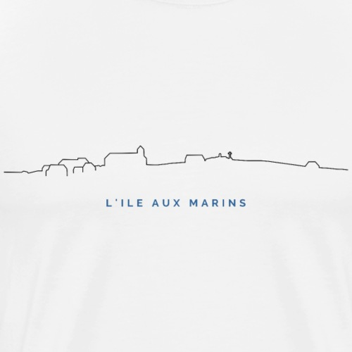 25 - L'île aux marins - T-shirt Premium Homme