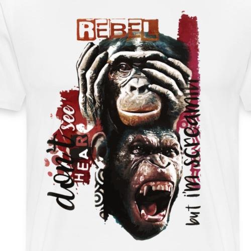 rebel - Maglietta Premium da uomo