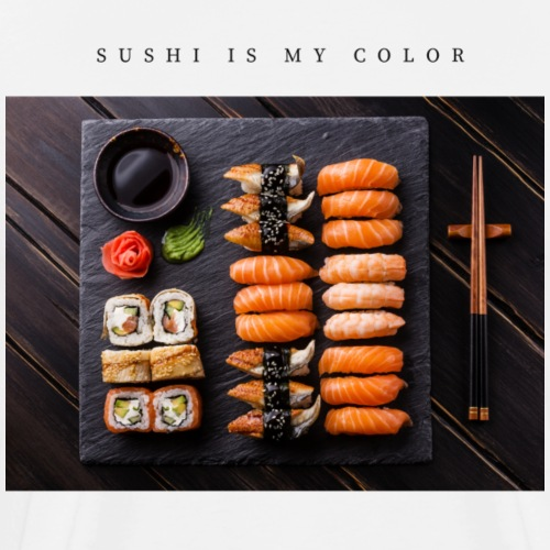 sushi is my color