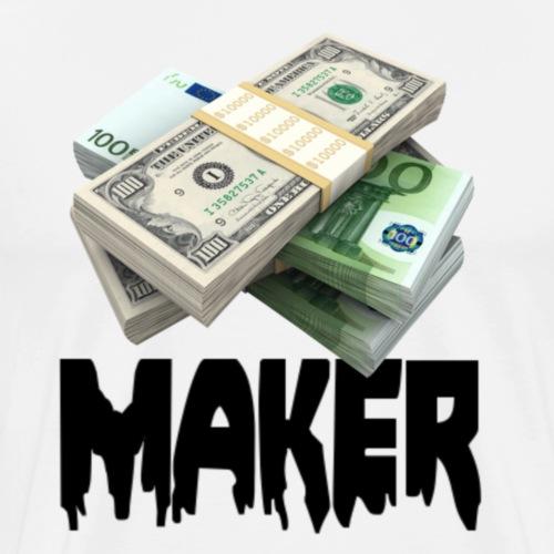 MONEYMAKERBLACK - Mannen Premium T-shirt