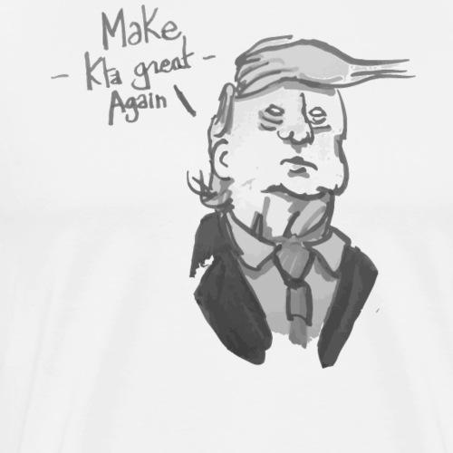 Trump cataphile - T-shirt Premium Homme