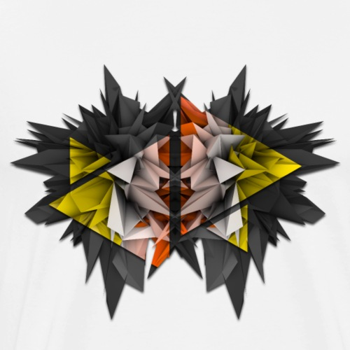 3D Abstract - The Urchin - Men's Premium T-Shirt