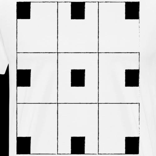 chessboard - Men's Premium T-Shirt