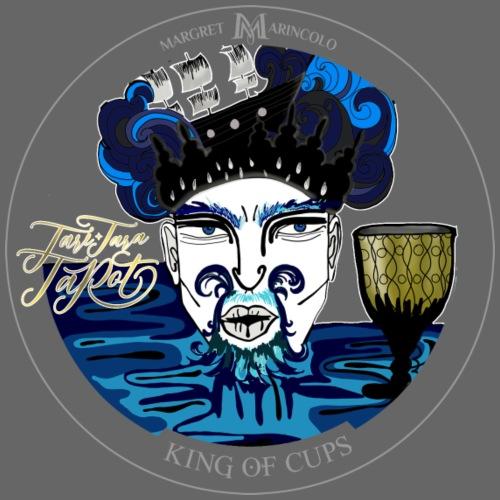 King of Cups   König der Kelche Tarot Karte - Männer Premium T-Shirt