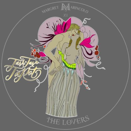 The Lovers   Die Liebenden Tarot Karte   Zwillinge - Männer Premium T-Shirt