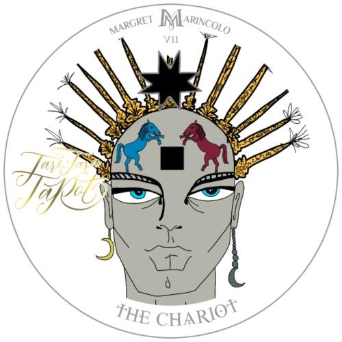 The Chariot   Der Wagen Tarot Karte   Krebs - Männer Premium T-Shirt