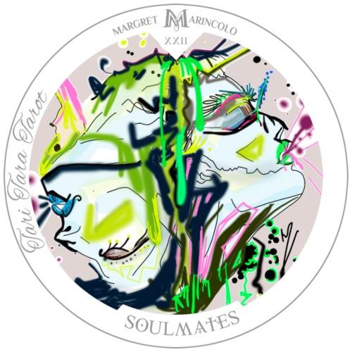 Soulmates   Dualseelen Tarot Karte   Zwillinge - Männer Premium T-Shirt
