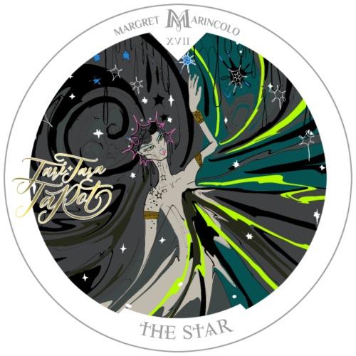 The Star | Der Stern Tarot Karte | Wassermann - Männer Premium T-Shirt