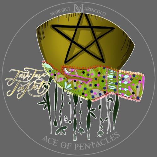 Ace of Pentacles | As der Münzen Tarot Karte - Männer Premium T-Shirt
