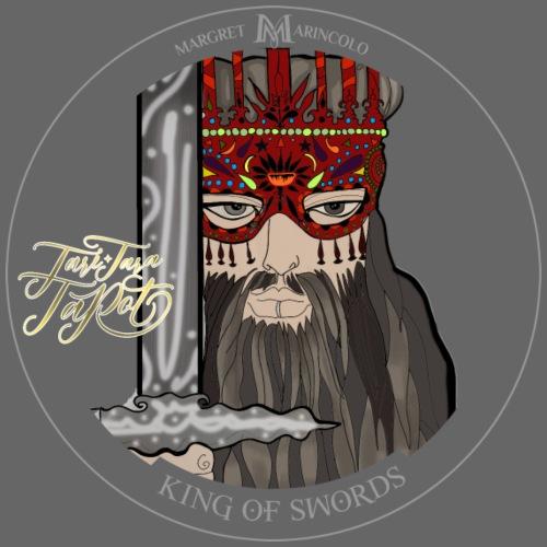 King of Swords   König der Schwerter Tarot Karte - Männer Premium T-Shirt