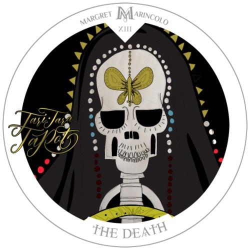 The Death   Der Tod Tarot Karte rund   Skorpion - Männer Premium T-Shirt