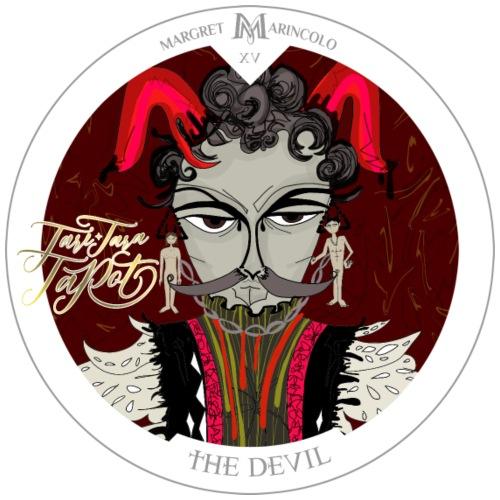 The Devil   Der Teufel Tarot Karte   Steinbock - Männer Premium T-Shirt