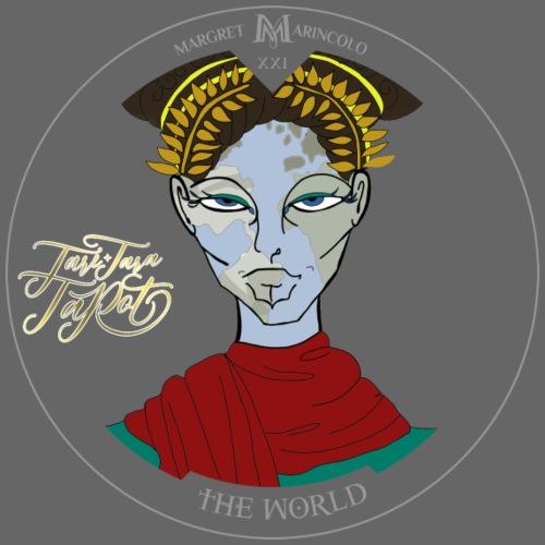 The World | Die Welt Tarot Karte - Männer Premium T-Shirt