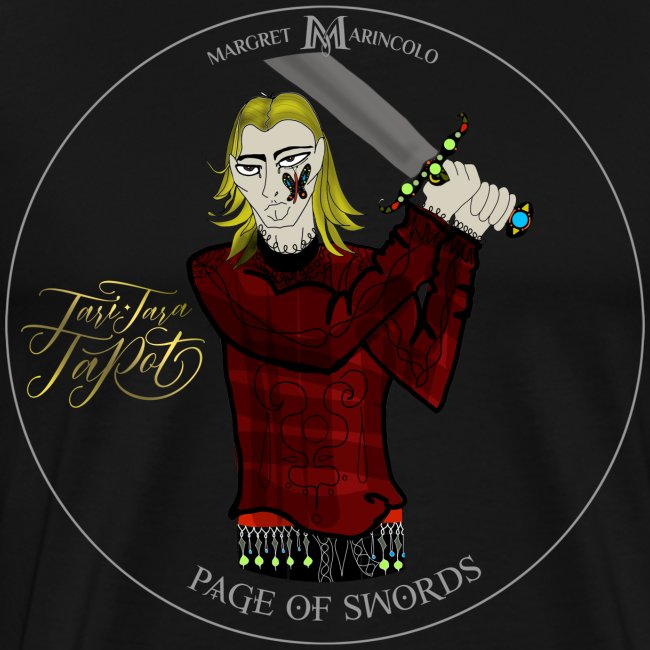 Page of Swords   Bube der Schwerter Tarot Karte