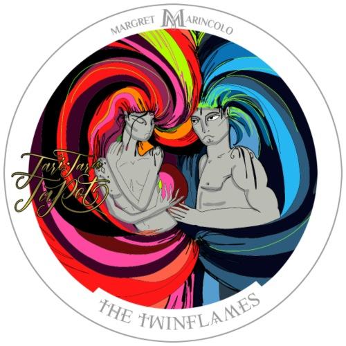 The Twinflames | Zwillingsflammen Tarot Karte - Männer Premium T-Shirt