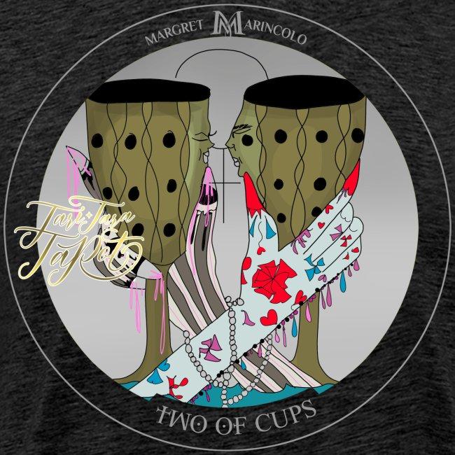 Two of Cups | Zwei der Kelche Tarot Karte