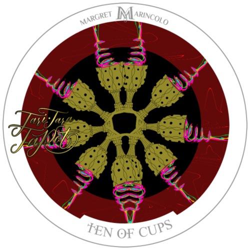 Ten of Cups | Zehn der Kelche Tarot Karte - Männer Premium T-Shirt