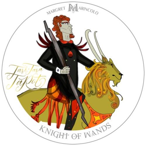 Knight of Wands | Ritter der Stäbe Tarot Karte - Männer Premium T-Shirt