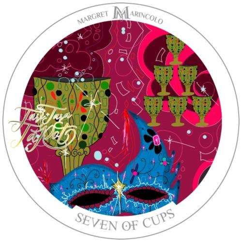 Seven of Cups | Sieben der Kelche Tarot Karte - Männer Premium T-Shirt