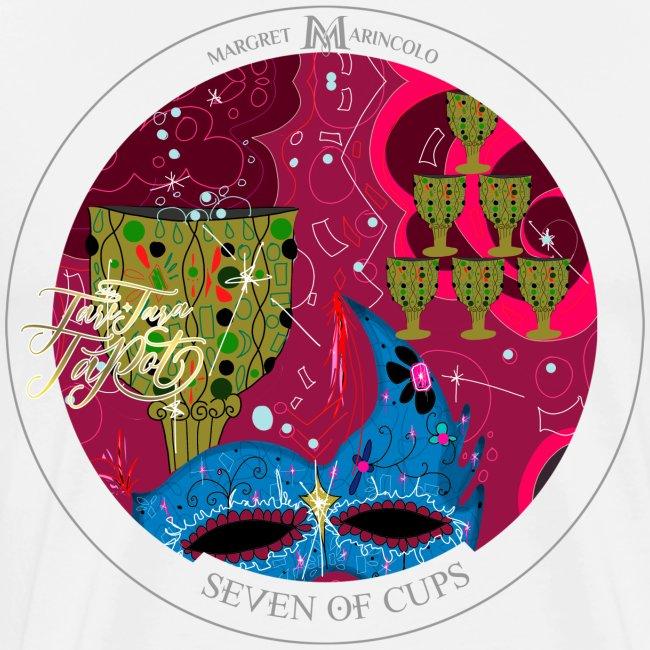 Seven of Cups | Sieben der Kelche Tarot Karte