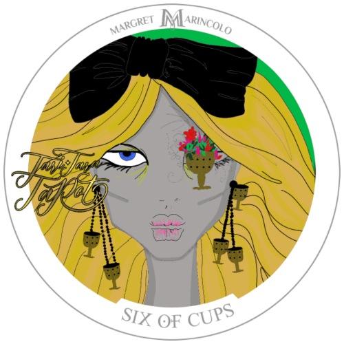 Six of Cups | Sechs der Kelche Tarot Karte - Männer Premium T-Shirt