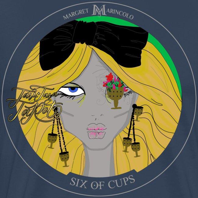 Six of Cups | Sechs der Kelche Tarot Karte