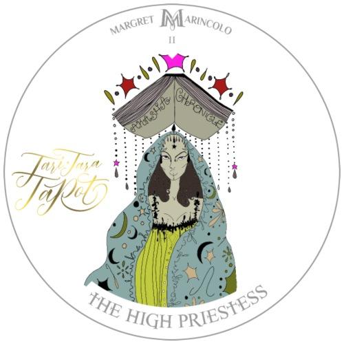 The HIGH PRIESTESS | Hohepriesterin Tarot Karte - Männer Premium T-Shirt