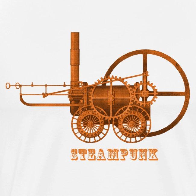 Steampunk Lokomotive