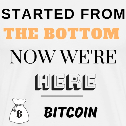 Started from the bottom - T-shirt Premium Homme